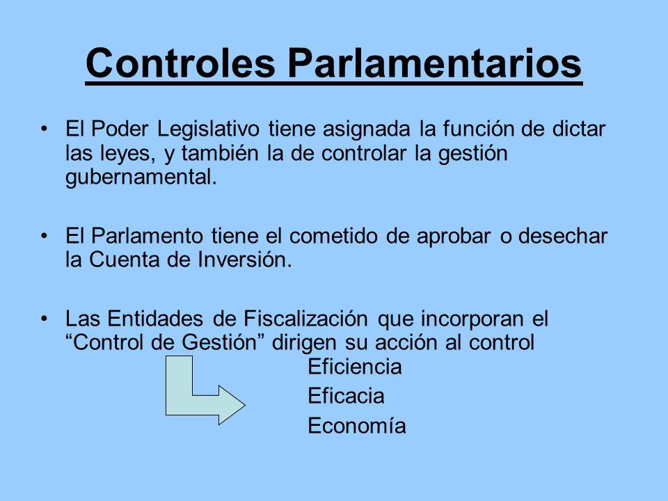 Controles Parlamentarios