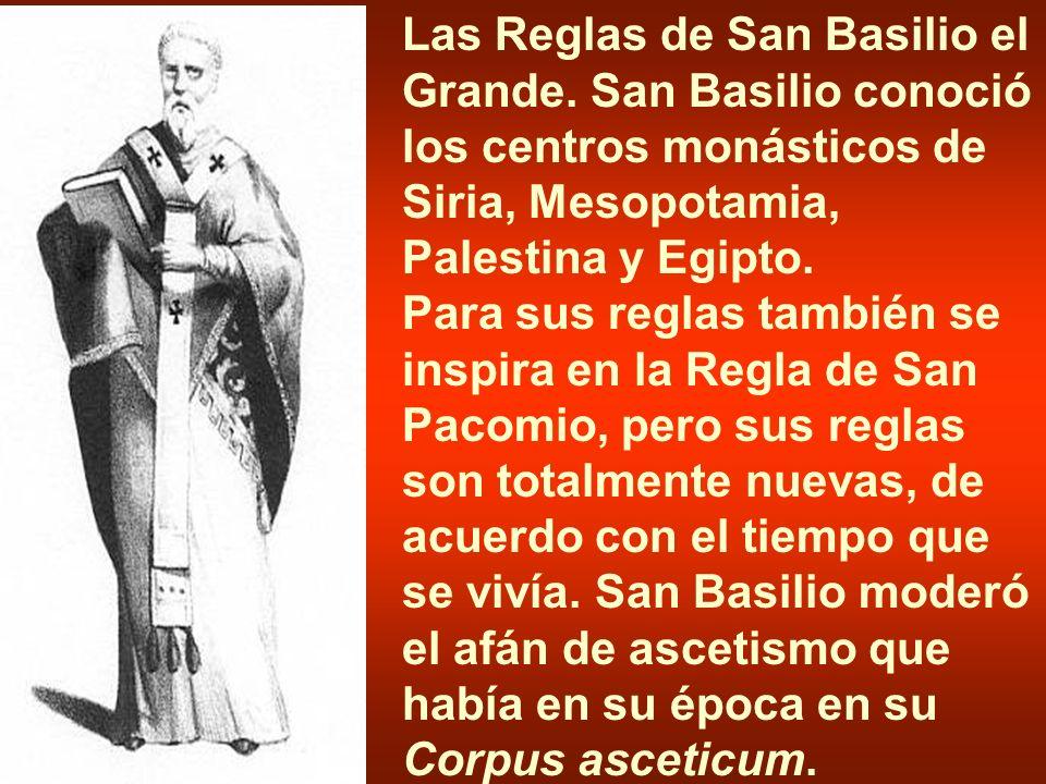 Las Reglas de San Basilio el Grande