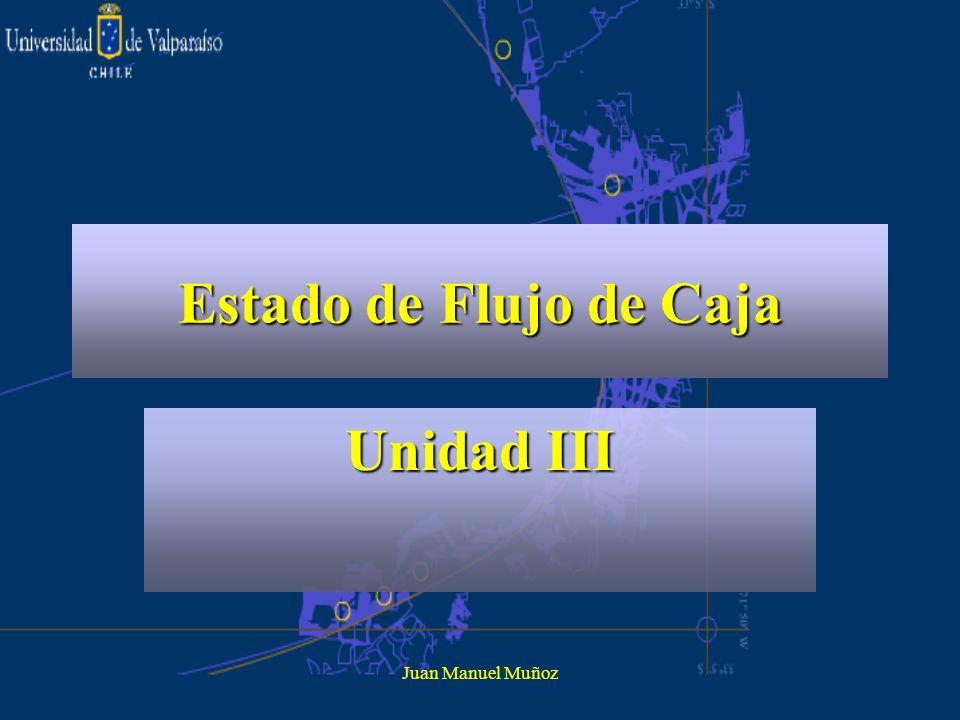 Estado de Flujo de Caja Unidad III