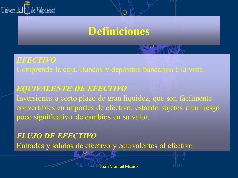 Definiciones EFECTIVO