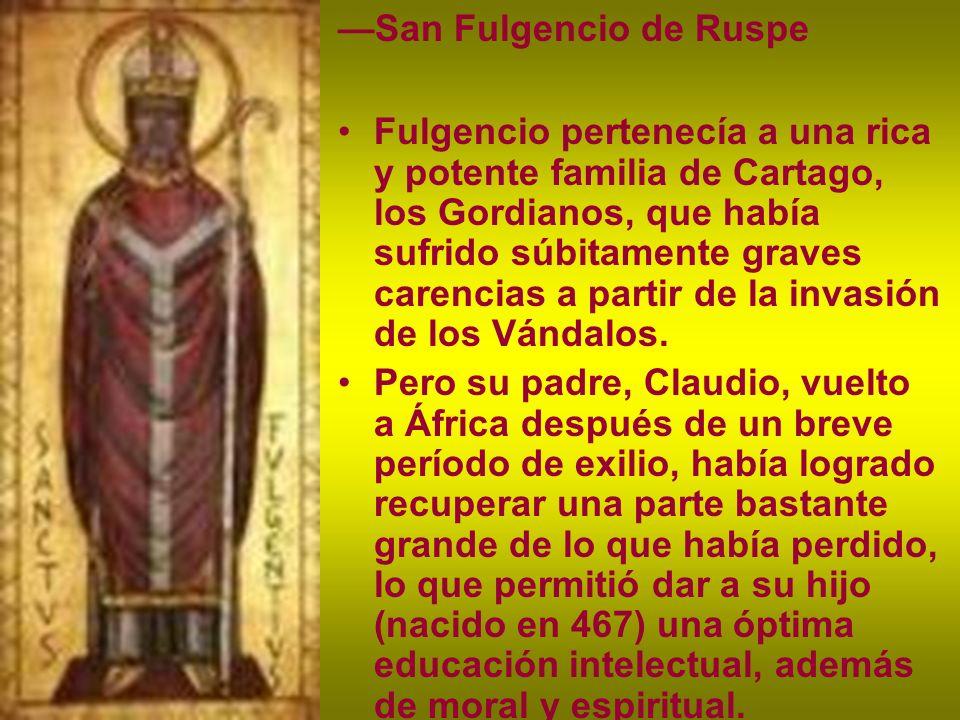 —San Fulgencio de Ruspe