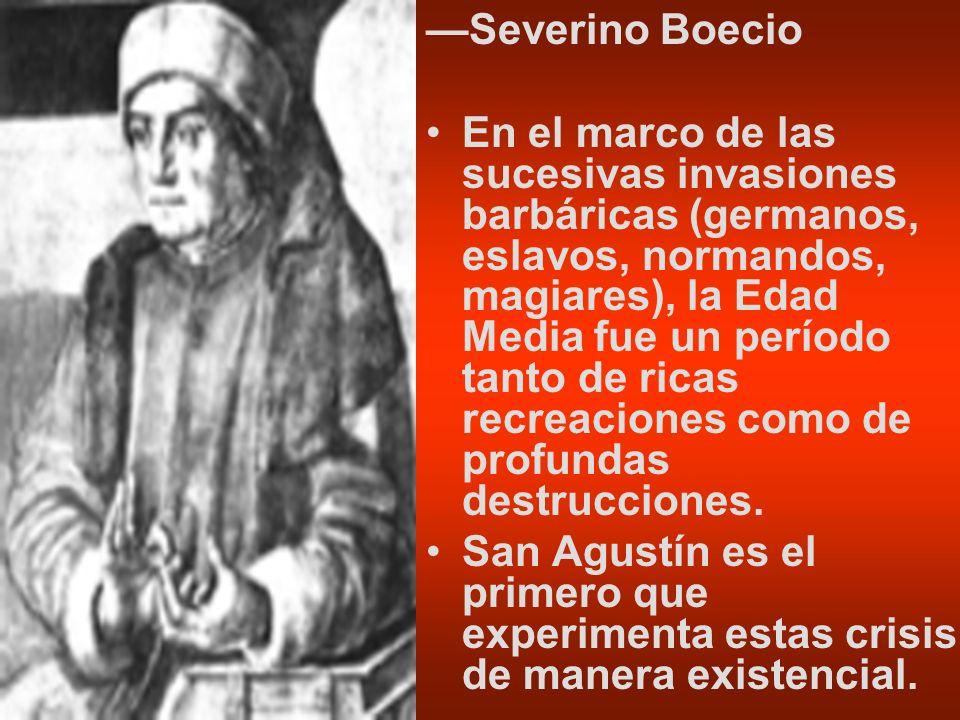 —Severino Boecio