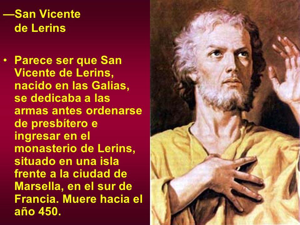 —San Vicente de Lerins