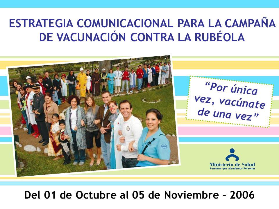 Del 01 de Octubre al 05 de Noviembre - 2006