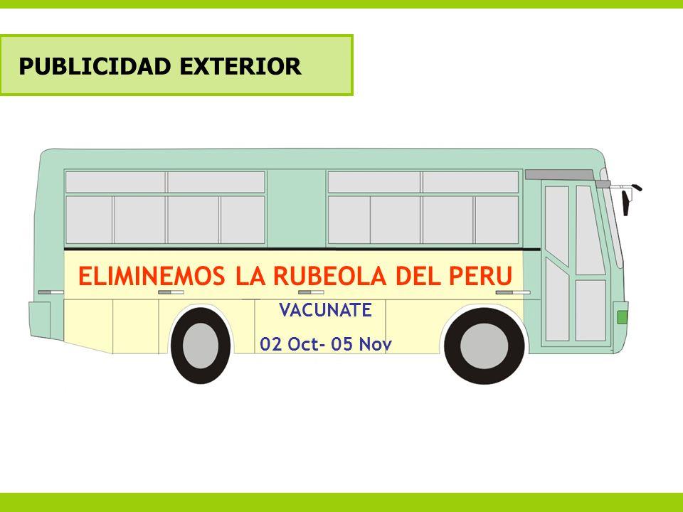 ELIMINEMOS LA RUBEOLA DEL PERU