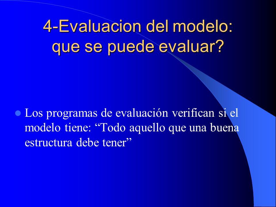 4-Evaluacion del modelo: que se puede evaluar