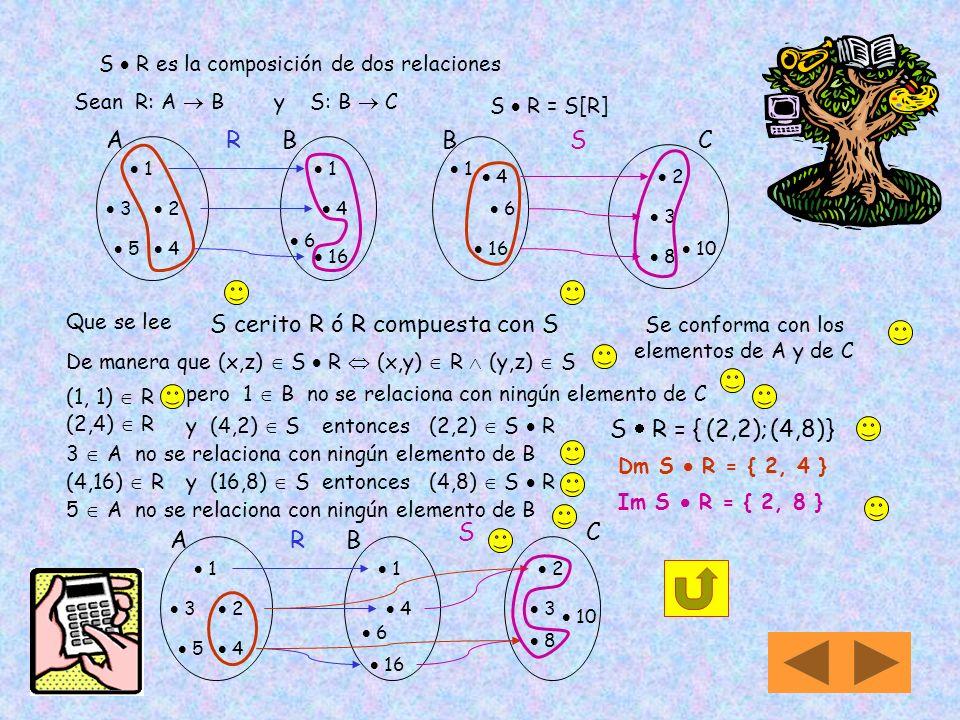 S  R es la composición de dos relaciones