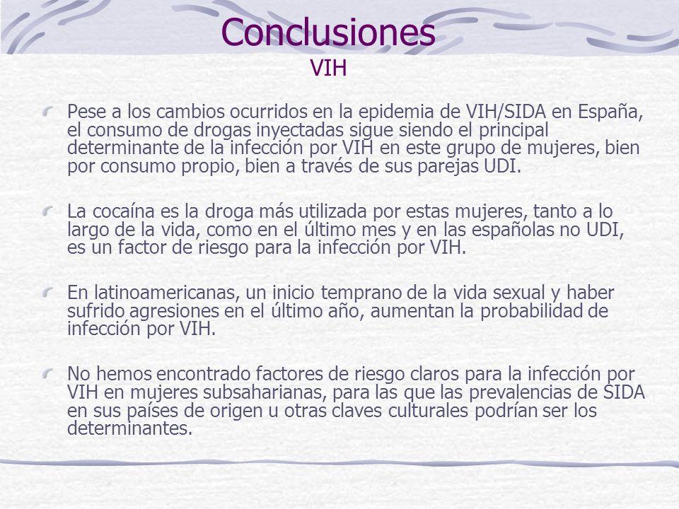 Conclusiones VIH