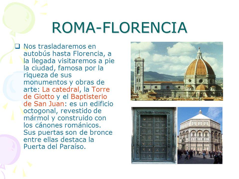 ROMA-FLORENCIA