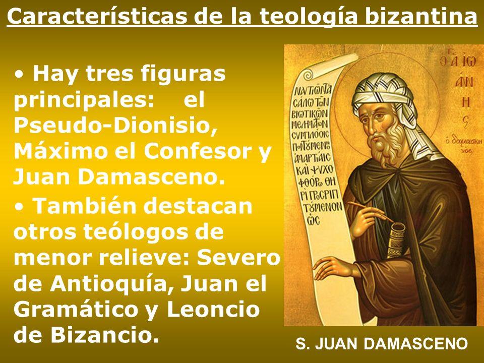 Características de la teología bizantina