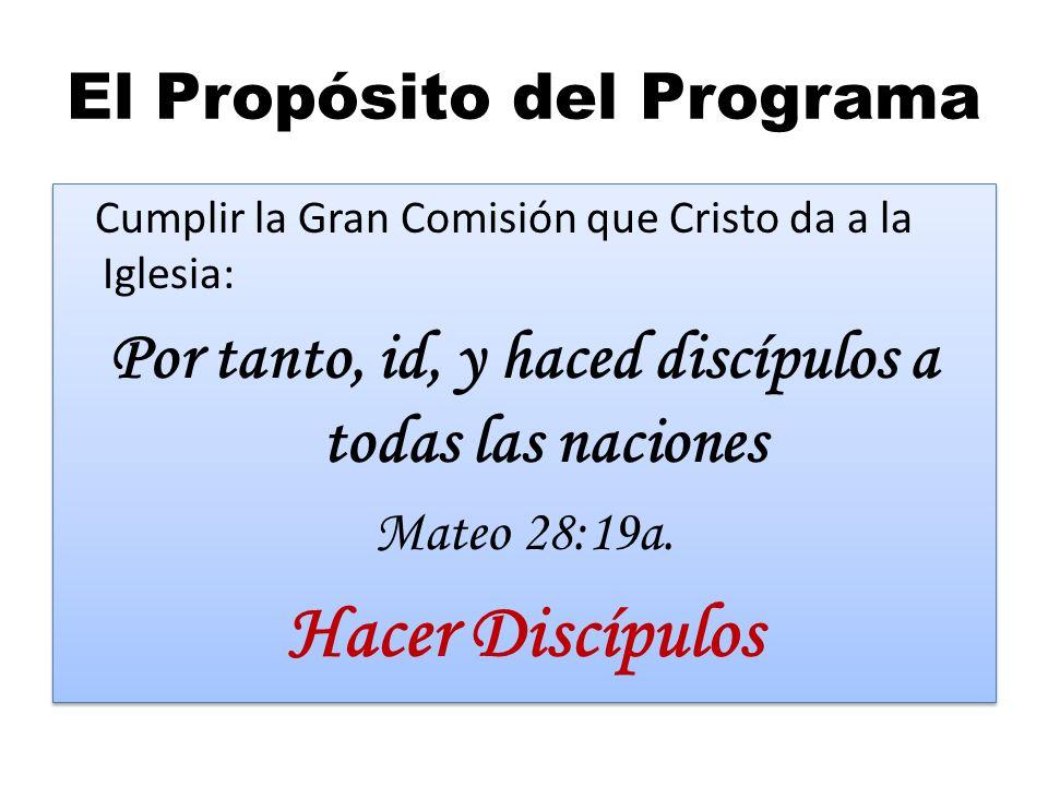 El Propósito del Programa