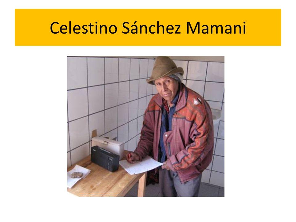 Celestino Sánchez Mamani
