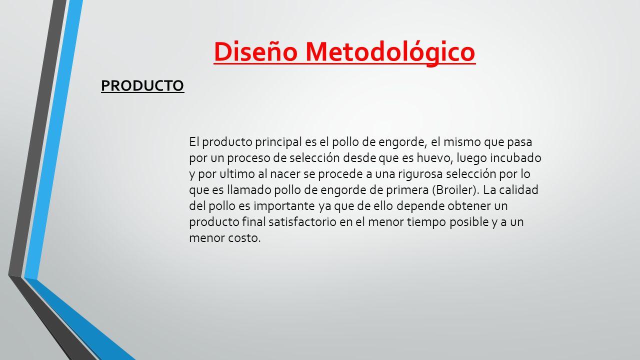 Diseño Metodológico PRODUCTO