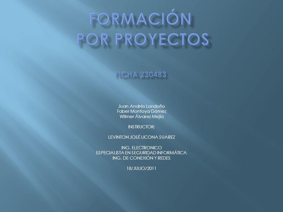 Formación por proyectos FICHA 230483