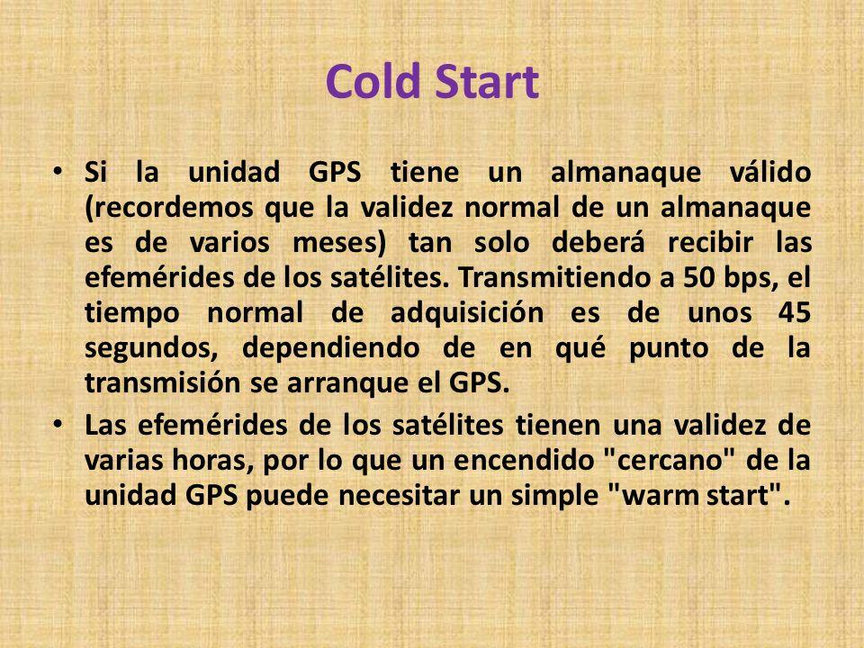 Cold Start