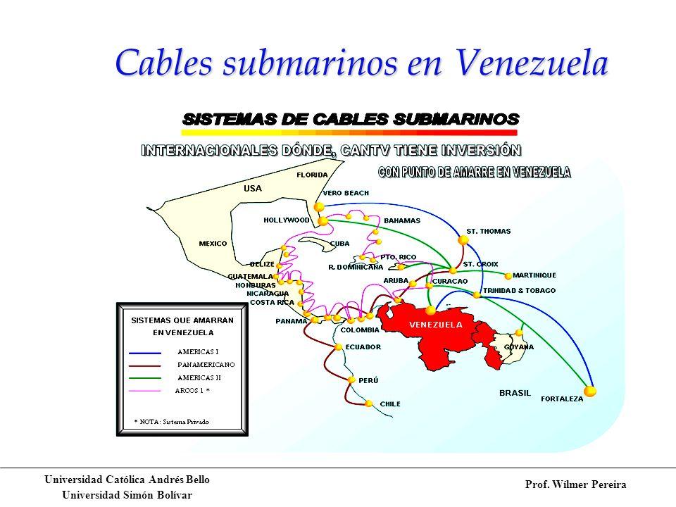 Cables submarinos en Venezuela