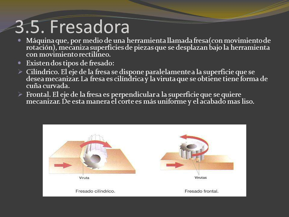 3.5. Fresadora