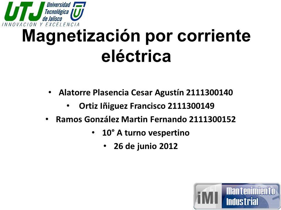 Magnetización por corriente eléctrica