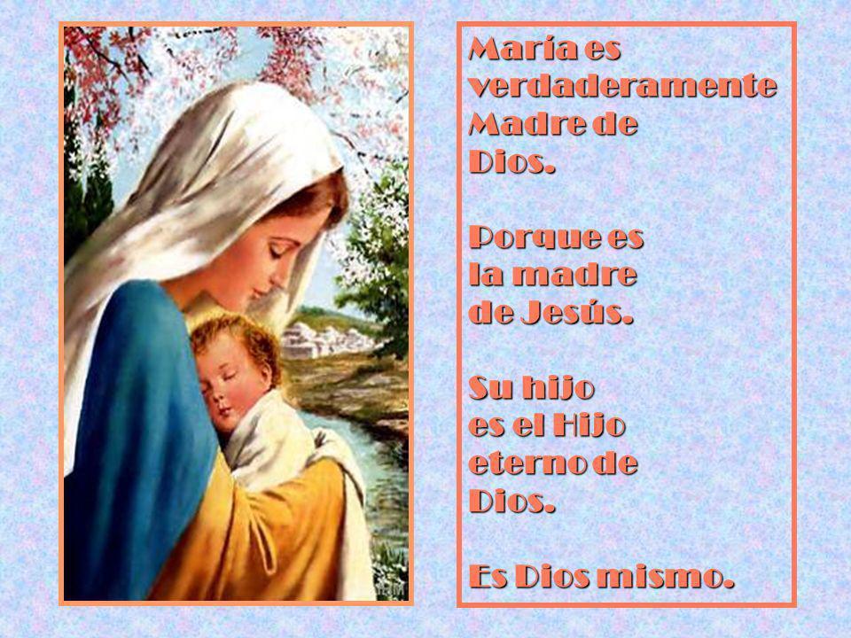 María es verdaderamente