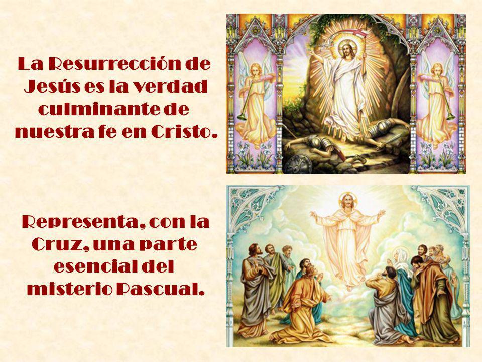 Cruz, una parte esencial del misterio Pascual.