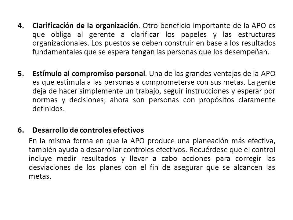 Clarificación de la organización