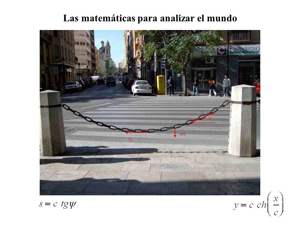 Las matemáticas para analizar el mundo