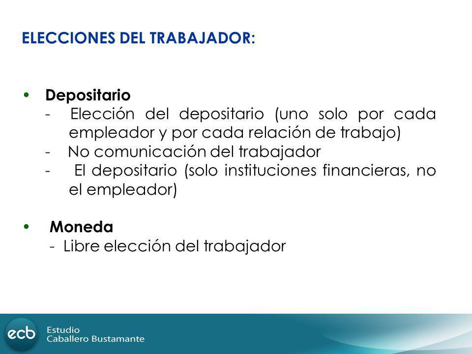 ELECCIONES DEL TRABAJADOR: