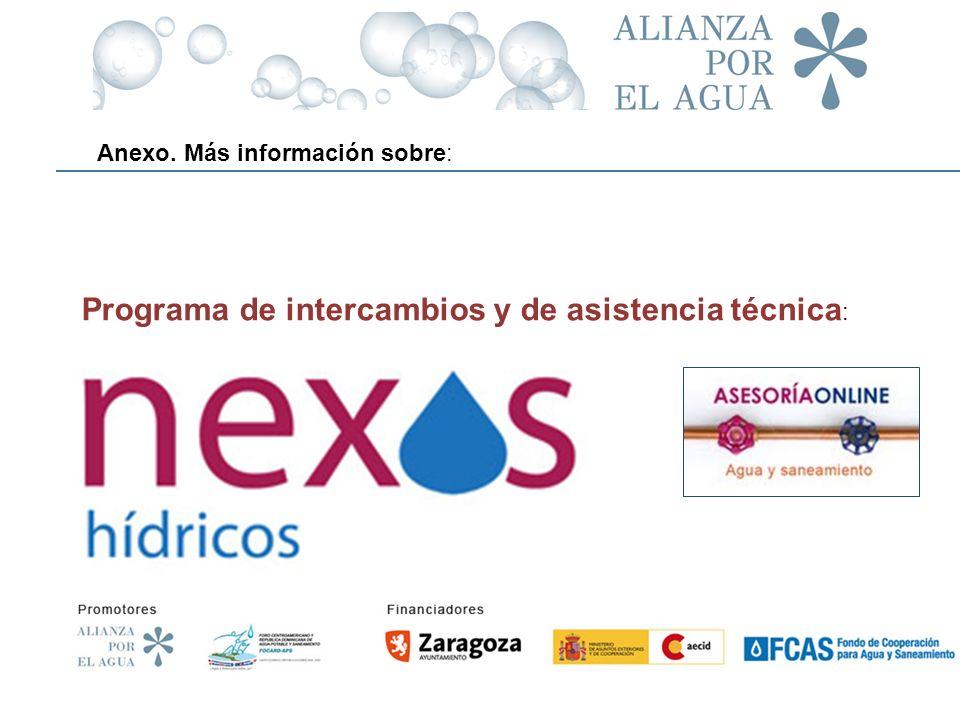 Programa de intercambios y de asistencia técnica: