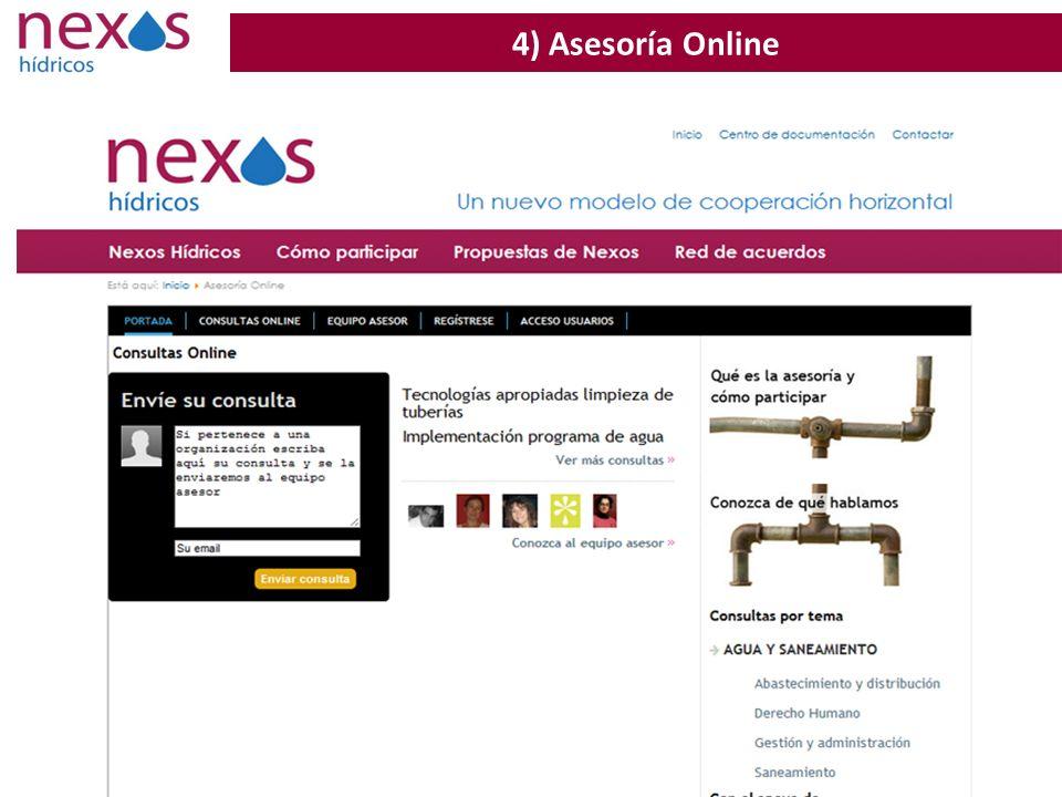 4) Asesoría Online