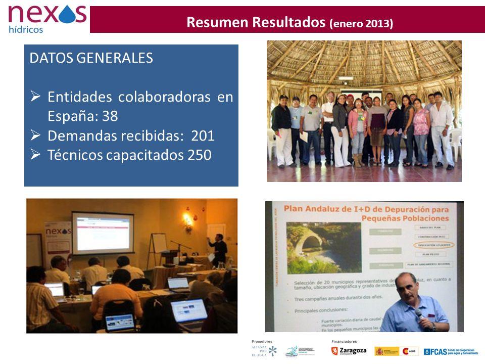 Resumen Resultados (enero 2013)