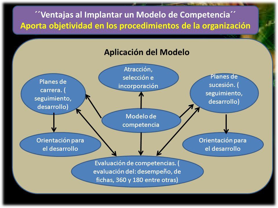 ´´Ventajas al Implantar un Modelo de Competencia´´