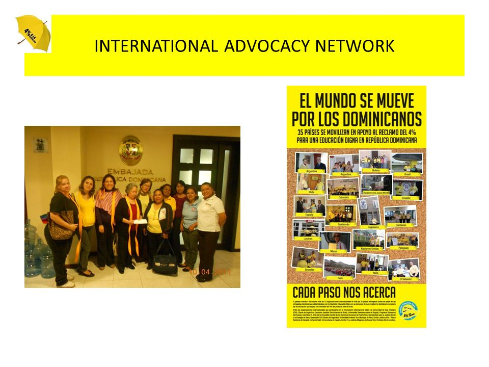 INTERNATIONAL ADVOCACY NETWORK