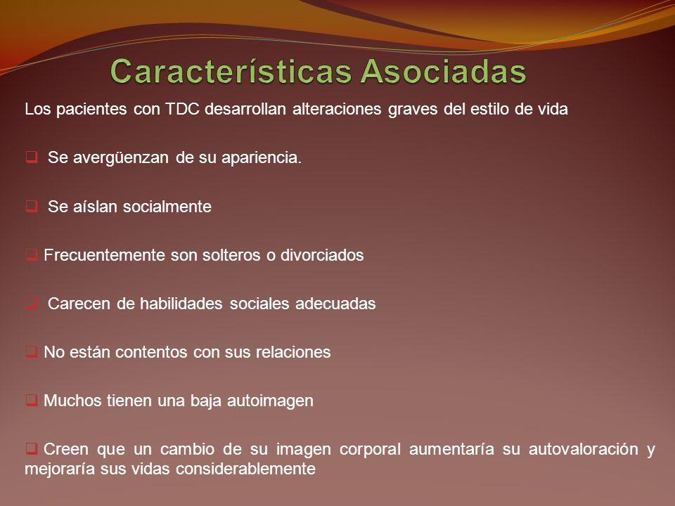 Características Asociadas