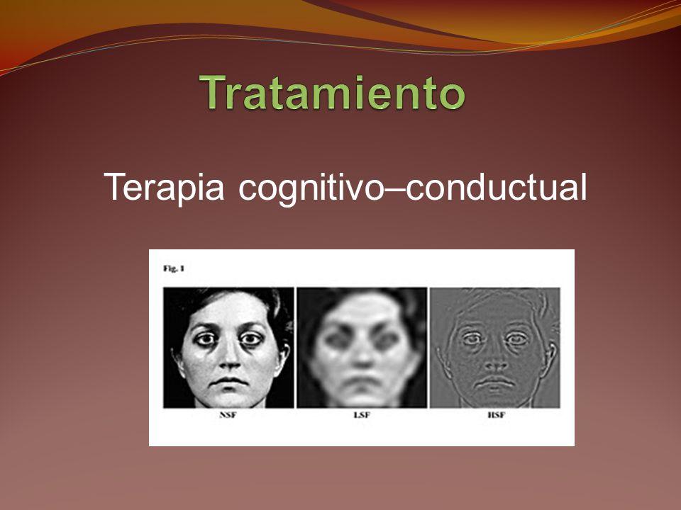 Terapia cognitivo–conductual