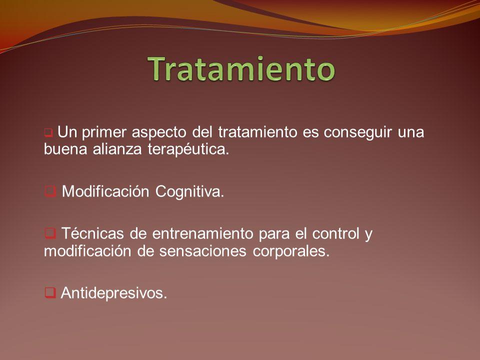 Tratamiento Modificación Cognitiva.