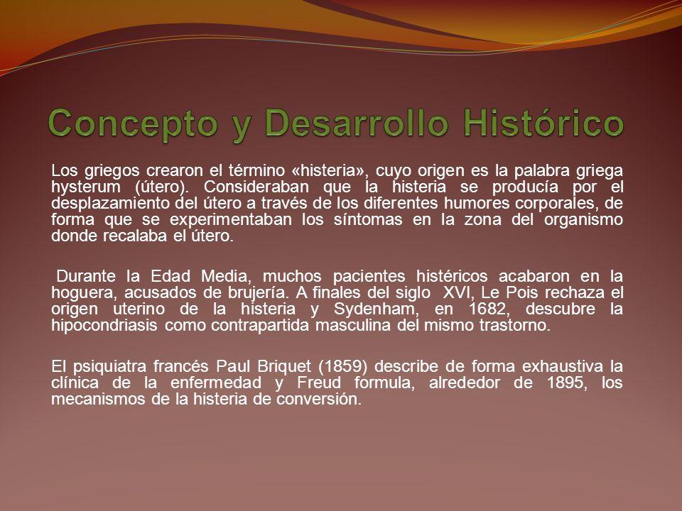 Concepto y Desarrollo Histórico