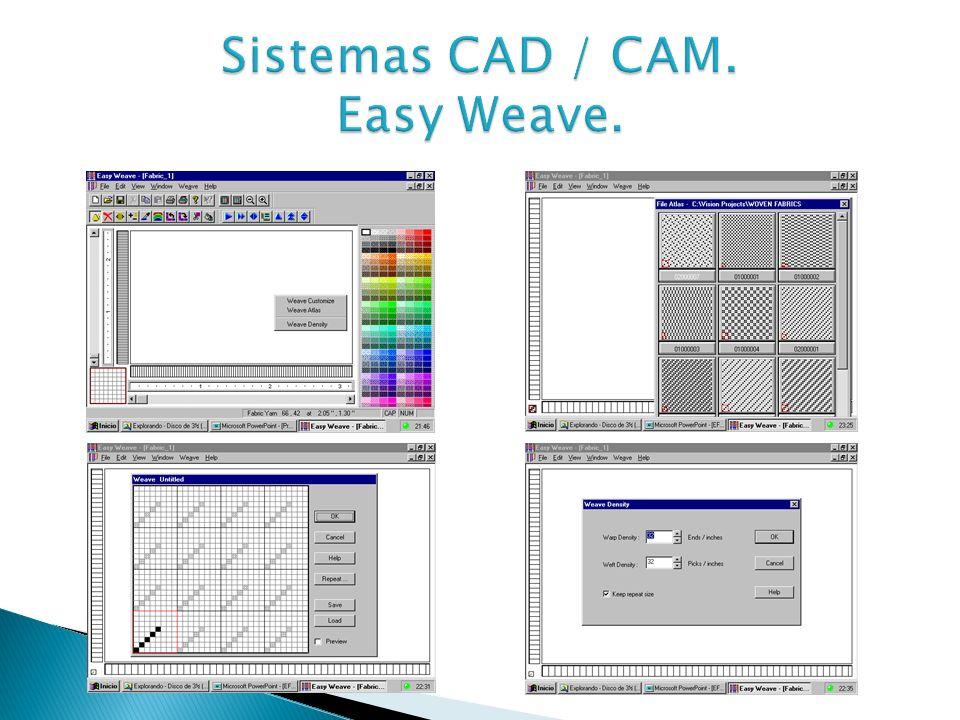 Sistemas CAD / CAM. Easy Weave.