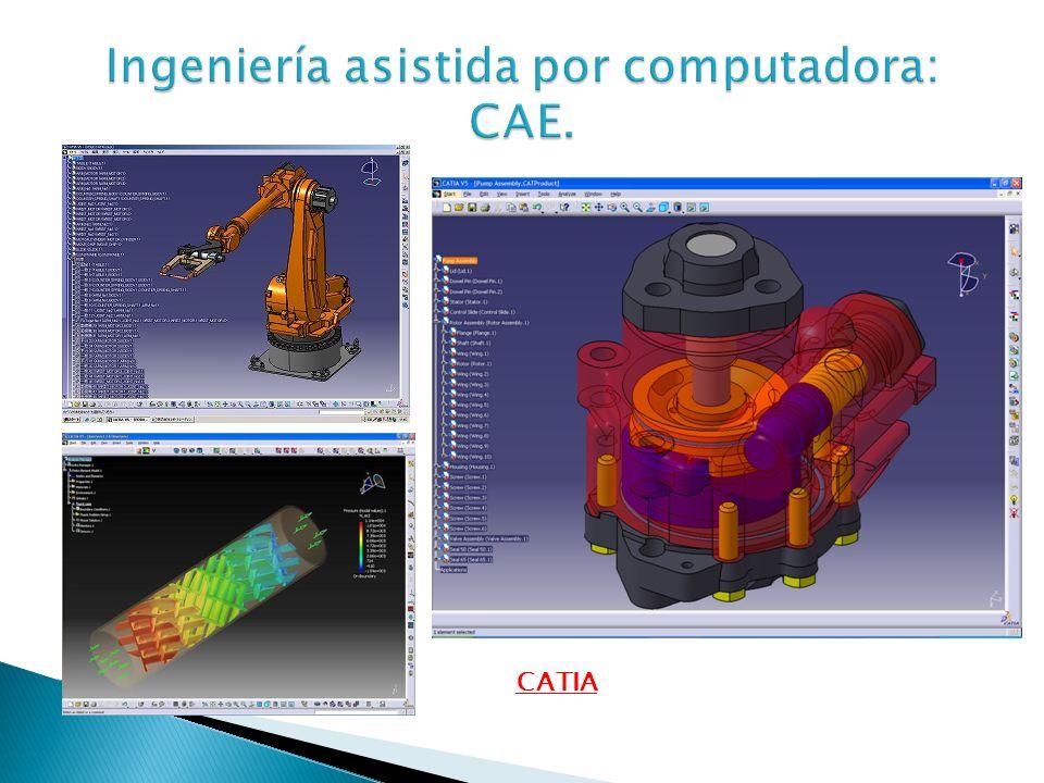 Ingeniería asistida por computadora: CAE.