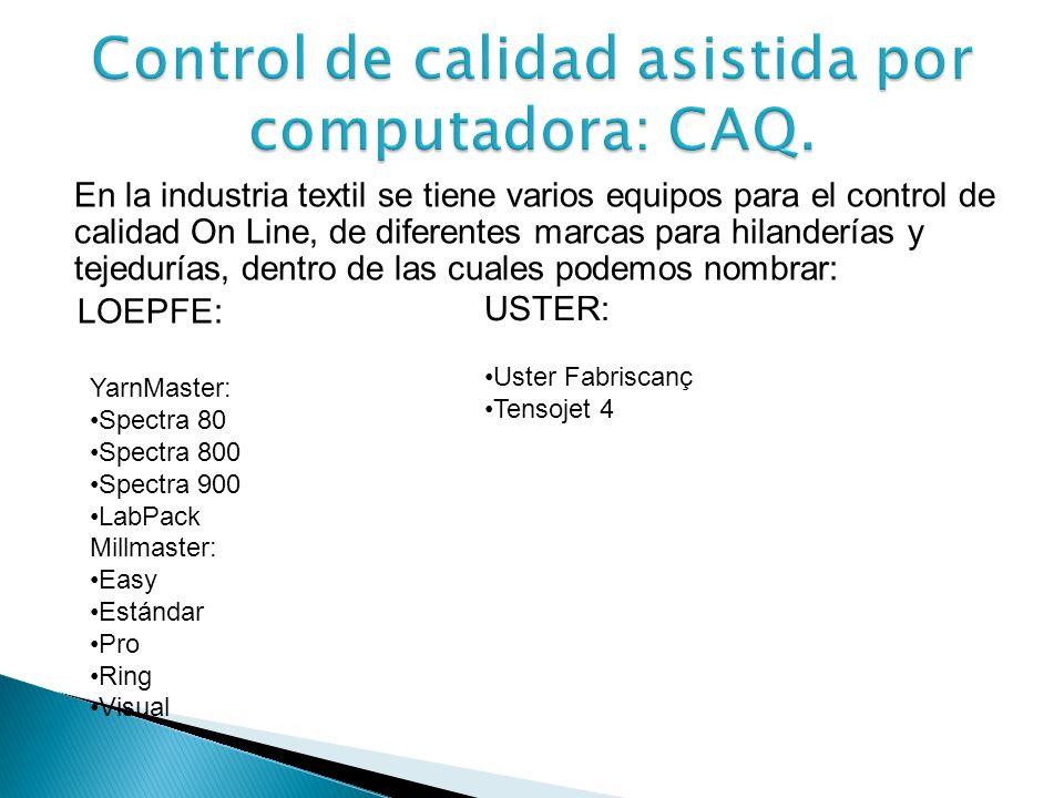 Control de calidad asistida por computadora: CAQ.