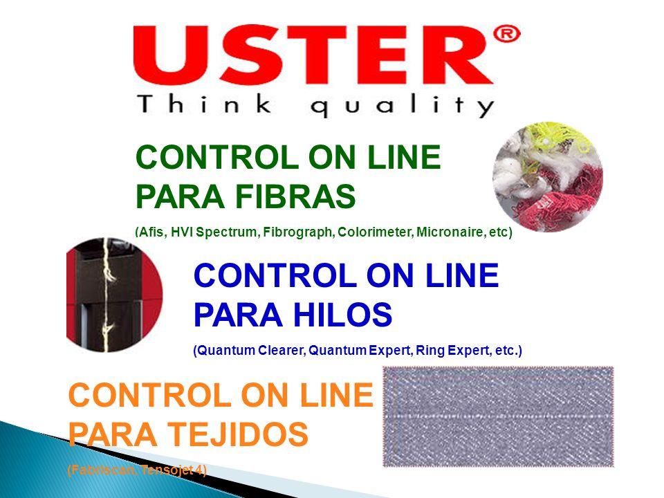 CONTROL ON LINE PARA FIBRAS