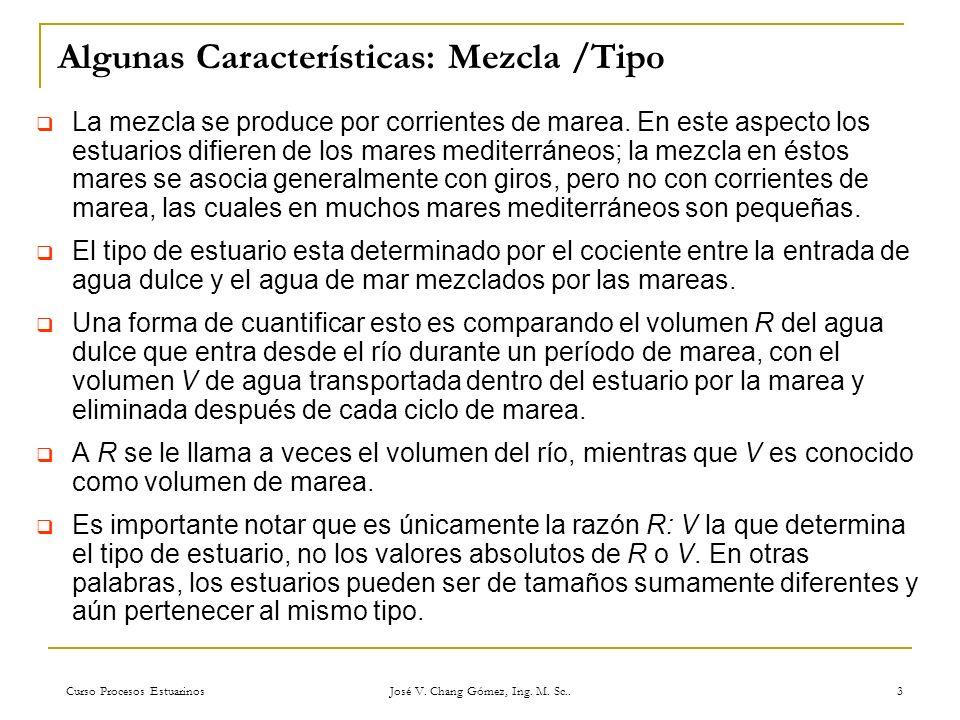 Algunas Características: Mezcla /Tipo