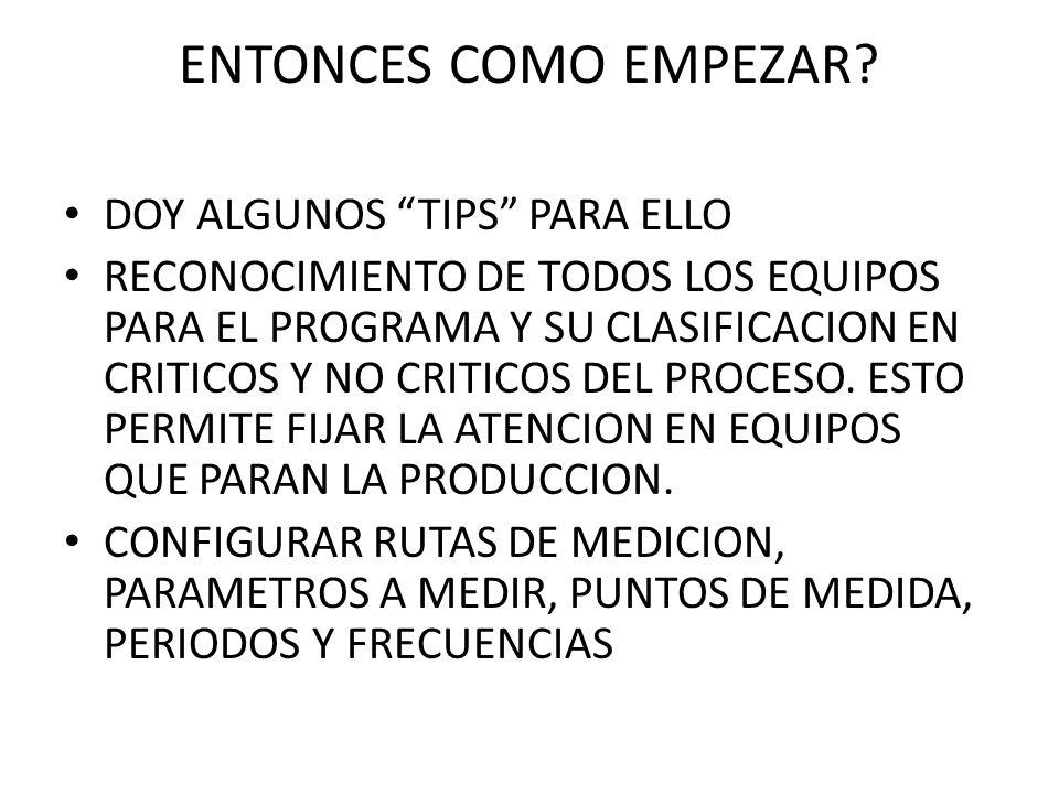ENTONCES COMO EMPEZAR DOY ALGUNOS TIPS PARA ELLO