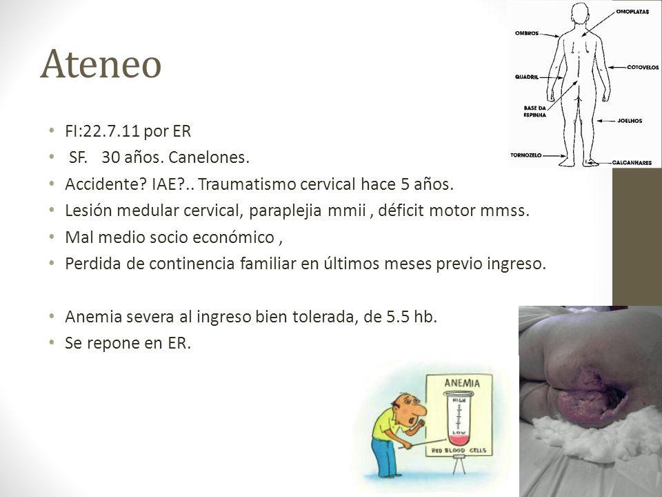Ateneo FI:22.7.11 por ER SF. 30 años. Canelones.