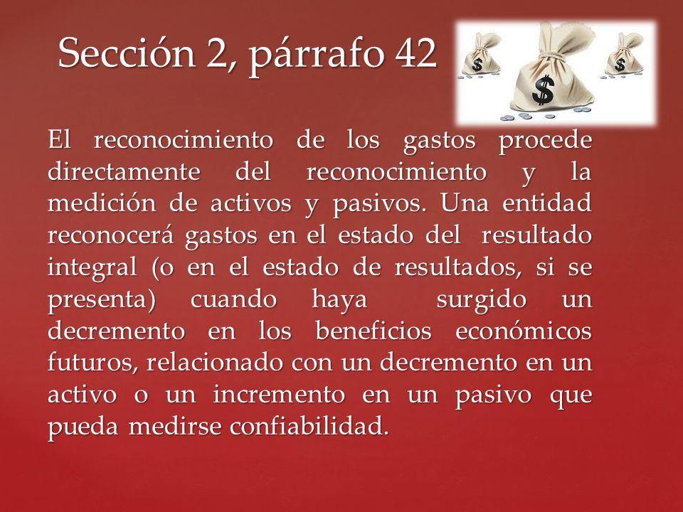 Sección 2, párrafo 42