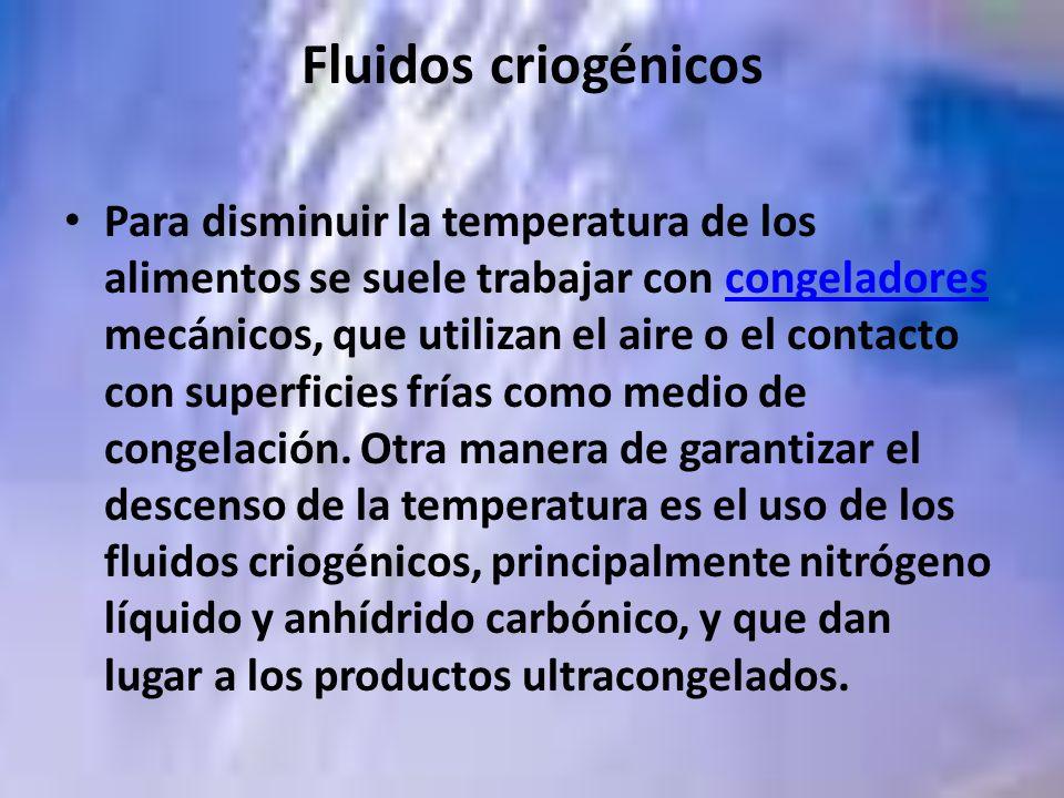 Fluidos criogénicos