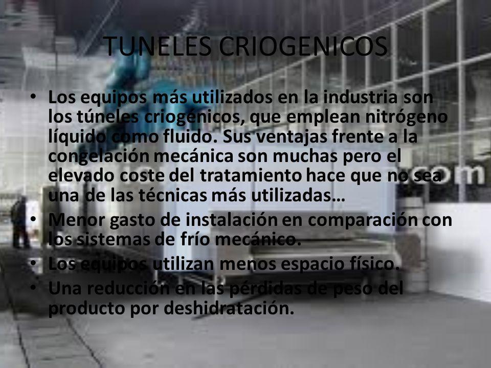 TUNELES CRIOGENICOS