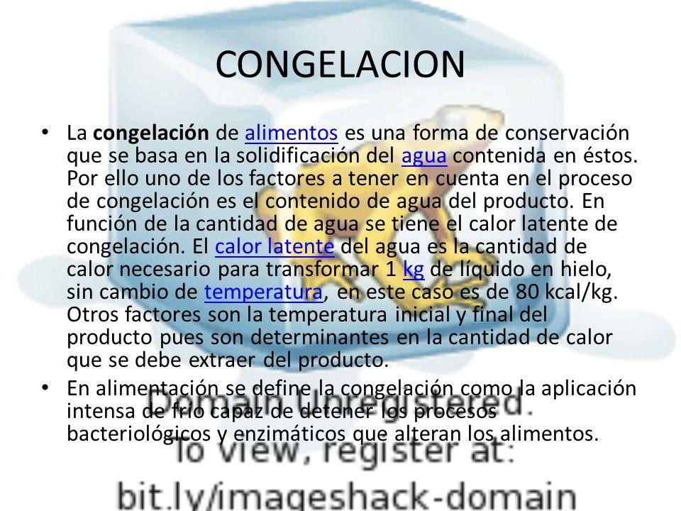 CONGELACION