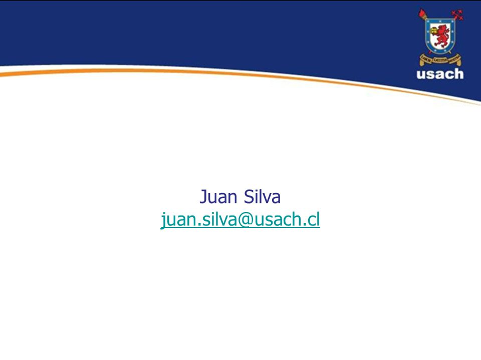 Juan Silva juan.silva@usach.cl