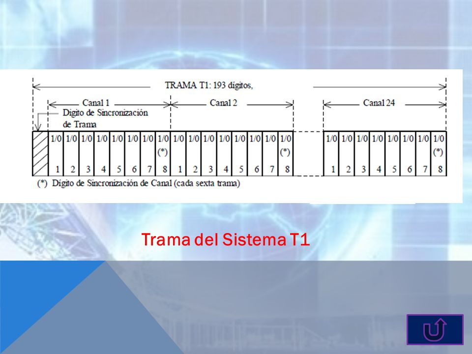 Trama del Sistema T1