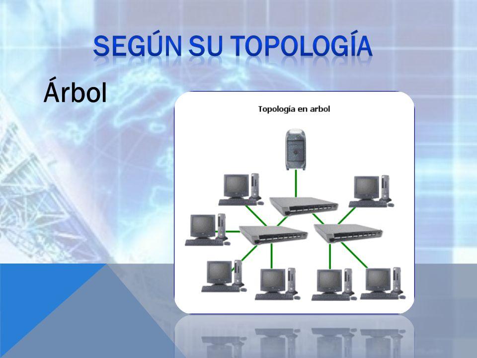 Según su topología Árbol